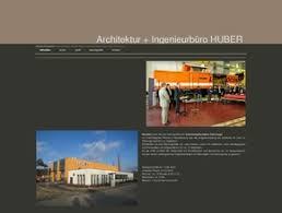 architektur homepage ingenieurbüro huber