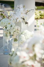 wedding flowers orlando hilary rob glamorous white lace wedding stoner events