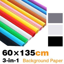 savage seamless paper 23inch x 53inch seamless paper background 3 in 1 with black white