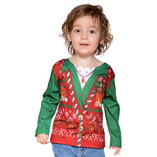 Sweater Toddler Faux Real Toddler Sweater Retrofestive Ca
