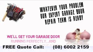 how much does it cost to repair a dent in a garage door perth