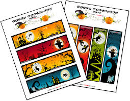 Printable Halloween Bookmarks by Confessions Of A Teaching Junkie Halloween Writing Prompts