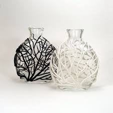 polymer clay home decor branches on vase mold in basement pinterest clay polymers