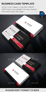 creative corporate business card template design print download