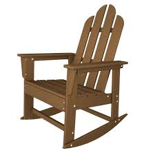 Adirondack Chairs Plastic Long Island Recycled Plastic Adirondack Rocking Chair