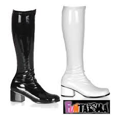 s gogo boots size 11 gogo boots white go go boots boots
