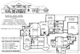 5 bedroom house plans 1 story 5 bedroom to estate size 4500 sq ft