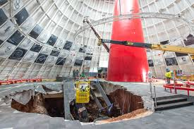 where is the national corvette museum located national corvette museum sinkhole repairs to begin in november