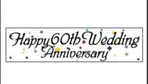 60th Wedding Anniversary Greetings Statelers Will Be Celebrating 70th Wedding Anniversary