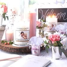 personalize candles wedding day yankee candles personalized for favors personalize