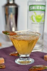 martini apple caramel apple pop martini simply darr ling
