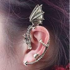 skyrim earrings ear cuff tattoo ear cuffs
