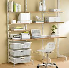 awesome home office shelves with adjustable shelf design ideas