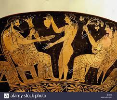 Aphrodite Vase Fine Arts Ancient World Greece Vase Painting Gods Zeus And