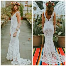 hippie boho wedding dresses crochet wedding dress boho wedding dress crochet lace wedding