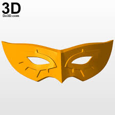3d printable model persona 5 masks print file formats stl