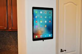 How To Mount Ipad To Wall S Mount Tablet Wall Mount Intuitive