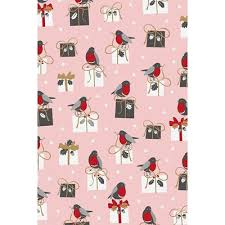 luxury christmas wrapping paper luxury christmas robin wrapping paper by stewo gifts liverpool