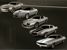 camaro the years evolution of the chevrolet camaro