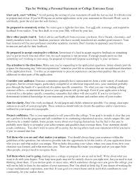 Sample Personal Resume How To Write A Personal Resume Personal Statement Samples For