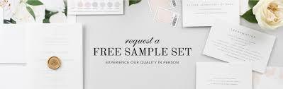 free wedding sles by mail free wedding invitation sles shine wedding invitations