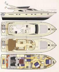 Luxury Yacht Floor Plans by Lady A U2013 Thalasses Villas