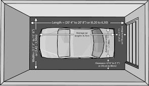 one car garage measurements house plans 6374