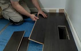 how to put laminate flooring on porcelain tile flooring wood