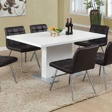 Dining Tables Canada Monarch Specialties I 1090 High Gloss Dining Table Lowe S Canada