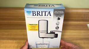 Kitchen Faucet Filter by Brita On Tap Faucet Water Filtration System Chrome Youtube