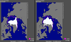 United States Snow Cover Map by Arctic Sea Ice News Fall 2007 Arctic Sea Ice News And Analysis