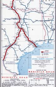 Map Of Waco Texas Meridian Highway Thc Texas Gov Texas Historical Commission