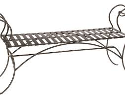 White Metal Outdoor Bench Bench Wrought Iron Bench Ideas For Every Room Beautiful White