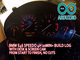 e36 instrument cluster wiring arduino code included