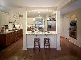 kitchen island with posts granite was used for the island and perimeter counters in this