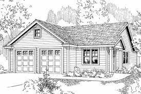 traditional house plans garage w studio 20 035 associated designs garage plan 20 035 front elevation