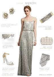 bridesmaid dresses silver silver sequin bridesmaid dresses