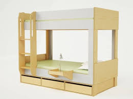 Plywood Bunk Bed Casa Debuts Sleek And Space Saving Cabin Bunk Bed Inhabitots
