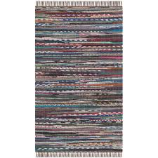 Rag Area Rug Safavieh Rag Rug Rust Multi 2 Ft 6 In X 4 Ft Area Rug Rar121e