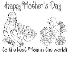 printable mothers day cards for to colorkitty baby