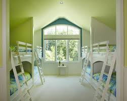 Green Kids Bedroom Ideas With Bunk Bed Home Interior Design - Green childrens bedroom ideas
