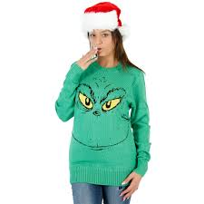 grinch christmas sweater women s grinch dr seuss christmas sweater