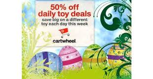 target black friday cartwheel toy deals target cartwheel offers 50 off a select toy a day target deals