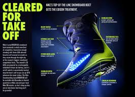 light up snowboard boots cleared for take off nike snowboarding s lunarendor qs nike news