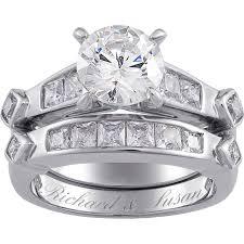 walmart womens wedding bands wedding rings platinum bridal sets wedding rings sets at walmart