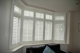 white shutters bay window victorian offer clean lines for in