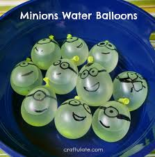 water balloons minions water balloons craftulate