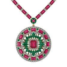 pink ruby necklace images La magie quot juliette co jpg