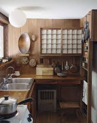 Japan Kitchen Design George Nakashima S Simple Japanese Styled Kitchen Idea For