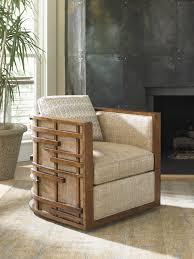 island fusion semerang swivel chair lexington home brands